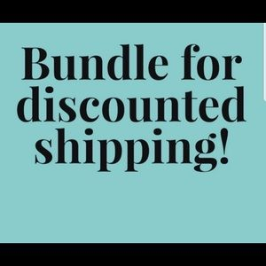 Other - Bundle for discounted shipping